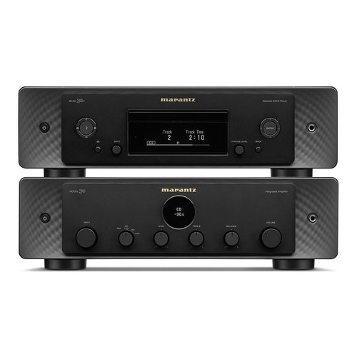 View Larger Image of MODEL 30 Integrated Amplifier and SACD 30n CD Player with HEOS Built-In