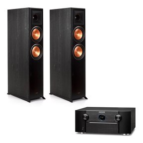 SR7013 9.2-Channel 4K Ultra HD AV Receiver with Amazon Alexa and HEOS with Klipsch RP-6000F Reference Premiere Floorstanding Speakers - Pair
