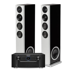 SR7015 9.2-Channel AV Receiver with Definitive Technology Demand Series D15 High-Performance Floorstanding Speakers