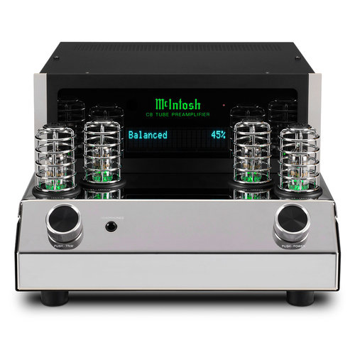 View Larger Image of C8 2-Channel Vacuum Tube Stereo Preamplifier with Digital Audio Module