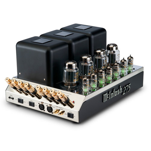 View Larger Image of MC275 Vacuum Tube Powered Amplifier