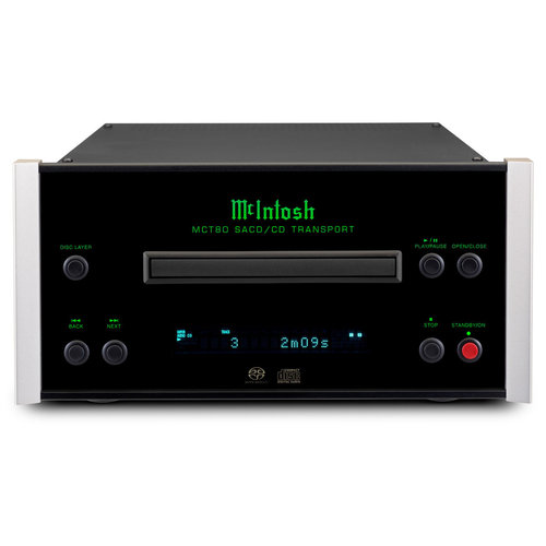 View Larger Image of MCT80 2-Channel SACD/CD Transport
