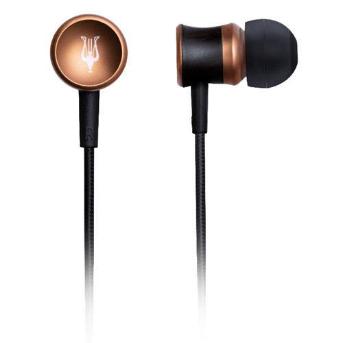 View Larger Image of 12 Classic V2 In-Ear Headphones (Black)