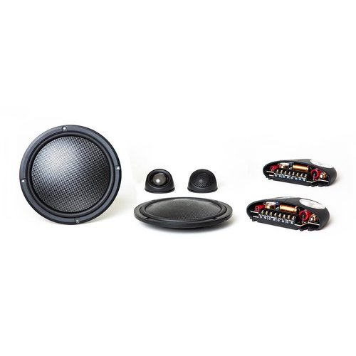 """View Larger Image of Virtus Nano Carbon 602 6-1/2"""" 2-Way Shallow-Mount Component Speakers"""