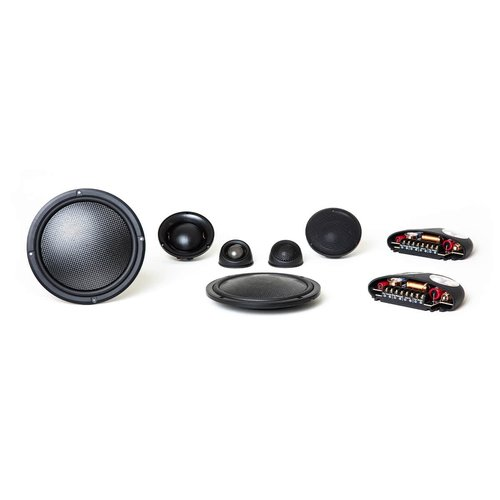 "View Larger Image of Virtus Nano Carbon 603 6-1/2"" 3-Way Shallow-Mount Component Speakers"