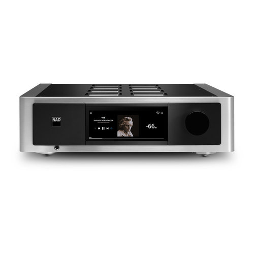 View Larger Image of M33 Integrated Amplifier with BluOS Streaming DAC