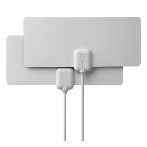 View Larger Image of 14502 Indoor Flat HDTV Antenna 2-Pack