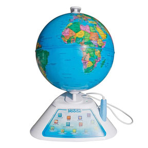 SG268 SmartGlobe Discovery Interactive Education Globe (White)
