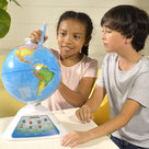 View Larger Image of SG268 SmartGlobe Discovery Interactive Education Globe (White)