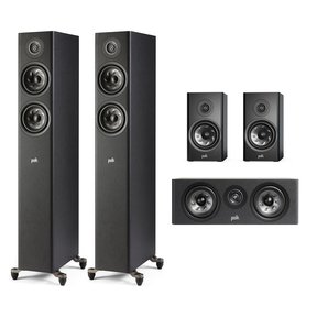 Reserve 5.0 Channel Compact Home Theater Speaker Package (Black)