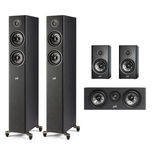 View Larger Image of Reserve 5.0 Channel Compact Home Theater Speaker Package (Black)