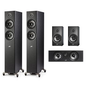 Reserve 5.0 Channel Home Theater Speaker Package (Black)