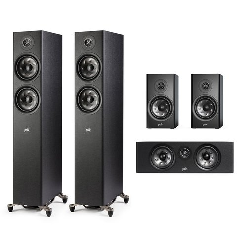 View Larger Image of Reserve 5.0 Channel Home Theater Speaker Package (Black)