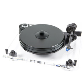6Perspex DC Turntable SuperPack with Blue Point EVO III Cartridge