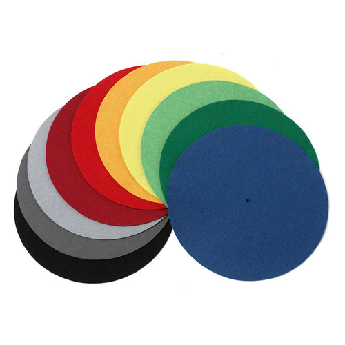 View Larger Image of Felt Turntable Mat in Designer Colors
