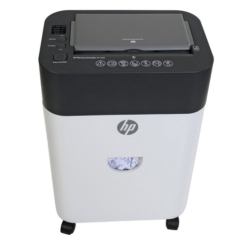 View Larger Image of HP AF1009 100 Sheet Auto-Feed Microcut Paper Shredder