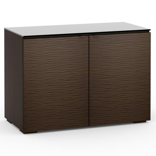 View Larger Image of Chameleon Collection Berlin 323 Twin-Width AV Cabinet (Textured Wenge)