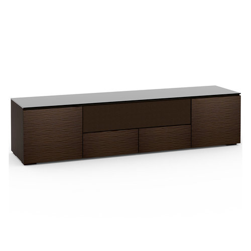 View Larger Image of Chameleon Collection Berlin 245 Quad-Width AV Cabinet with Center Grille (Textured Wenge)