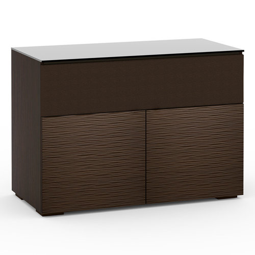 View Larger Image of Chameleon Collection Berlin 329 Twin-Width AV Cabinet with Center Grille (Textured Wenge)