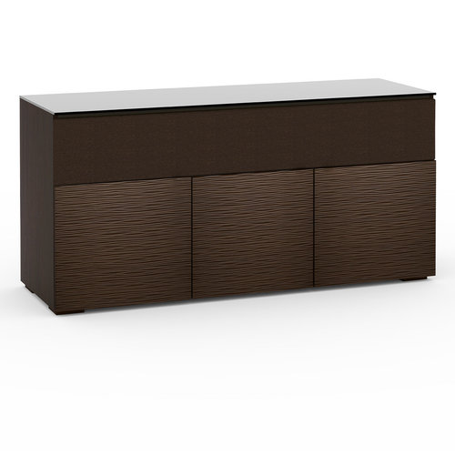View Larger Image of Chameleon Collection Berlin 339 Triple-Width AV Cabinet with Center Grille (Textured Wenge)