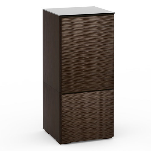 View Larger Image of Chameleon Collection Berlin 517 Twin-Width AV Cabinet (Textured Wenge)