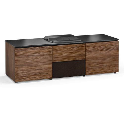 View Larger Image of Chameleon Collection Denver 236 Projector Integrated Cabinet for Epson LS100 Projector (Medium Walnut)