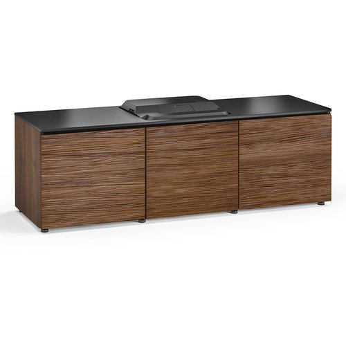 View Larger Image of Chameleon Collection Denver 237 Projector Integrated Cabinet for Epson LS100 Projector (Medium Walnut)