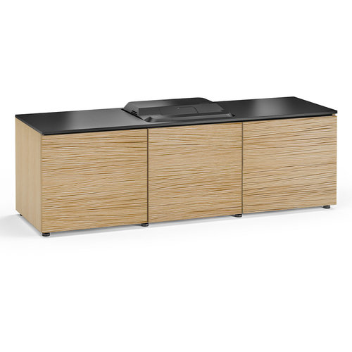 View Larger Image of Chameleon Collection Denver 237 Projector Integrated Cabinet for Epson LS100 Projector (Natural Oak)