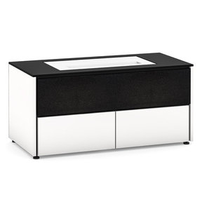 Chameleon Collection Miami 229 Projector Integrated Cabinet for LG HU85LA Projector (Gloss Warm White)