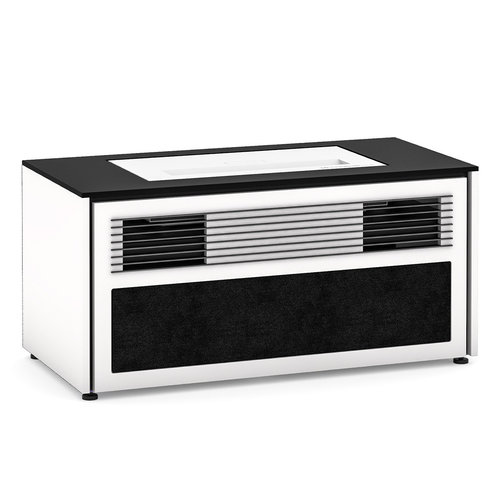 View Larger Image of Chameleon Collection Miami 229S Dual Speaker Grill Projector Integrated Cabinet for LG HU85LA Projector (Gloss Warm White)