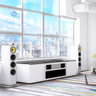 View Larger Image of Chameleon Collection Miami 245 UST Media Credenza for Sony VPL-VZ1000ES Projector (Gloss White)