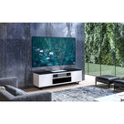 View Larger Image of Chameleon Collection Miami 245S Dual Speaker Grill Projector Integrated Cabinet for LG HU85LA Projector (Gloss Warm White)