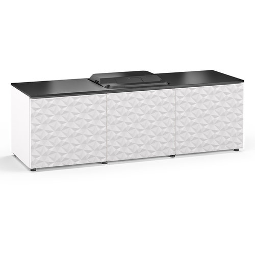 View Larger Image of Chameleon Collection Milan 237 Projector Integrated Cabinet for Epson LS100 Projector (White)