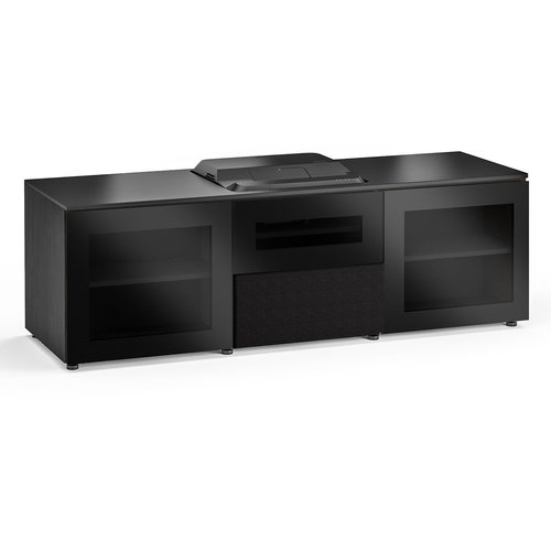 View Larger Image of Chameleon Collection Oslo 236 Projector Integrated Cabinet for Epson LS100 Projector (Black Oak)