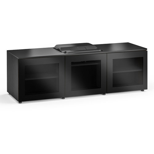 View Larger Image of Chameleon Collection Oslo 237 Projector Integrated Cabinet for Epson LS100 Projector (Black Oak)