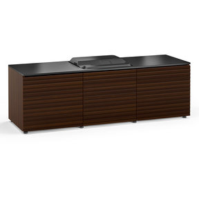 Chameleon Collection Zurich 237 Projector Integrated Cabinet for Epson LS100 Projector (Opium Brown)