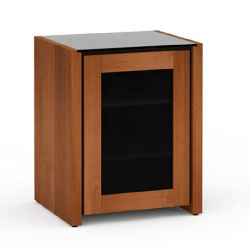 View Larger Image of Chameleon Collection Corsica 317 Single AV Cabinet (American Cherry)