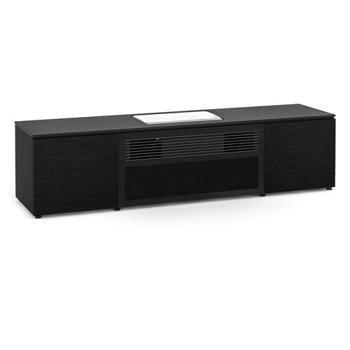 View Larger Image of Chicago 245 UST Projector Integrated Cabinet for Samsung LSP7TF (Black Oak)