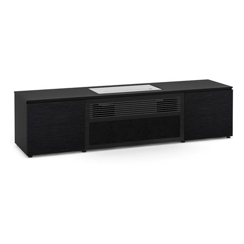 View Larger Image of Chicago 245S Cabinet for integrated LG UST Projector - Black Oak, Black Top