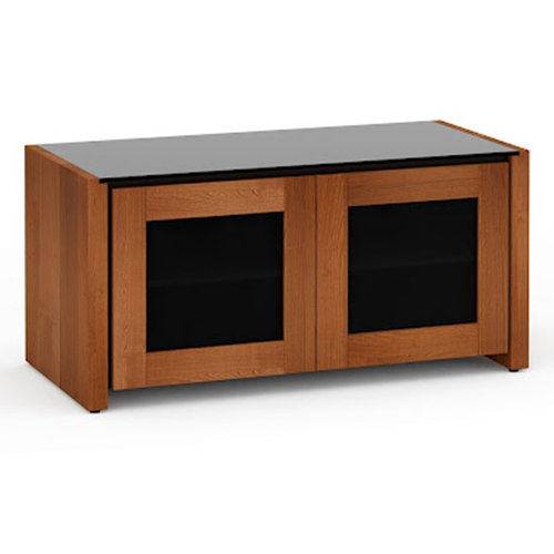 View Larger Image of Chameleon Collection Corsica 221 Twin-Width AV Cabinet (American Cherry)