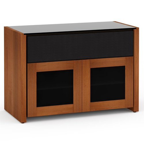 View Larger Image of Chameleon Collection Corsica 329 Twin-Width AV Cabinet (American Cherry)