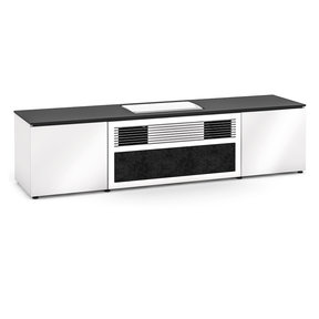 Miami 245 UST Projector Integrated Cabinet for Samsung LSP9TF (Gloss White)