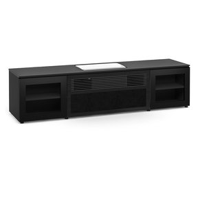 Oslo 245 UST Projector Integrated Cabinet for Samsung LSP9TF (Black Glass)