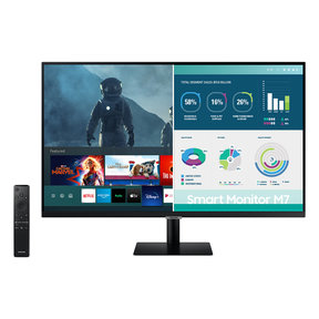 """32"""" M7 4K UHD Smart Monitor with Streaming TV"""