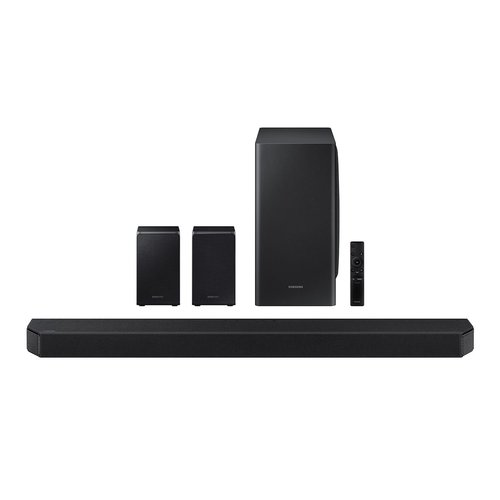 View Larger Image of HW-Q950T 9.1.4ch Soundbar with Dolby Atmos and Built-in Voice Assistant
