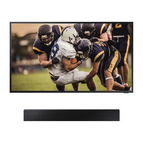 """QN75LST7TA 75"""" The Terrace QLED 4K UHD Outdoor Smart TV with HW-LST70T The Terrace Sound Bar"""