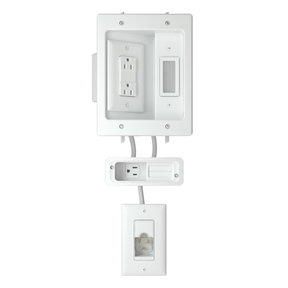 In-Wall Power Kit For Soundbars and Mounted TVs