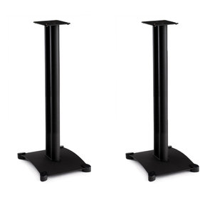 "SB34 Steel Series 34"" Bookshelf Speaker Stands - Pair (Black)"