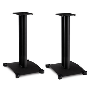 "SF22 Steel Series 22"" Bookshelf Speaker Stands - Pair (Black)"