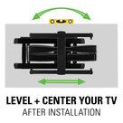 "View Larger Image of VXF730-B2 Extra Large Full Motion TV Mount for 46"" - 95"" TV"